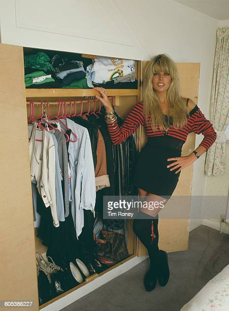 English pop singer and former model Mandy Smith circa 1990