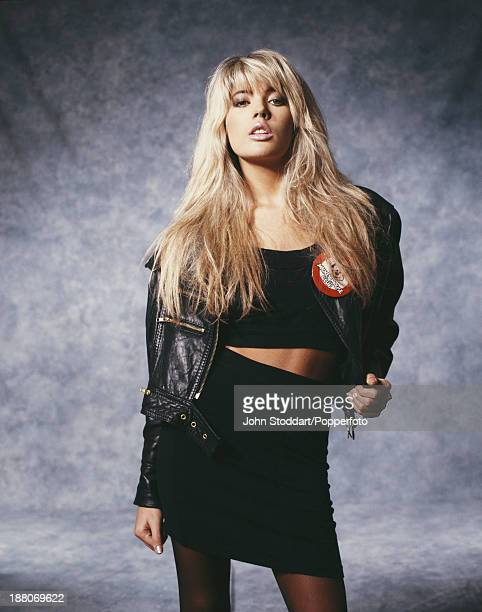 English pop singer and model Mandy Smith circa 1991