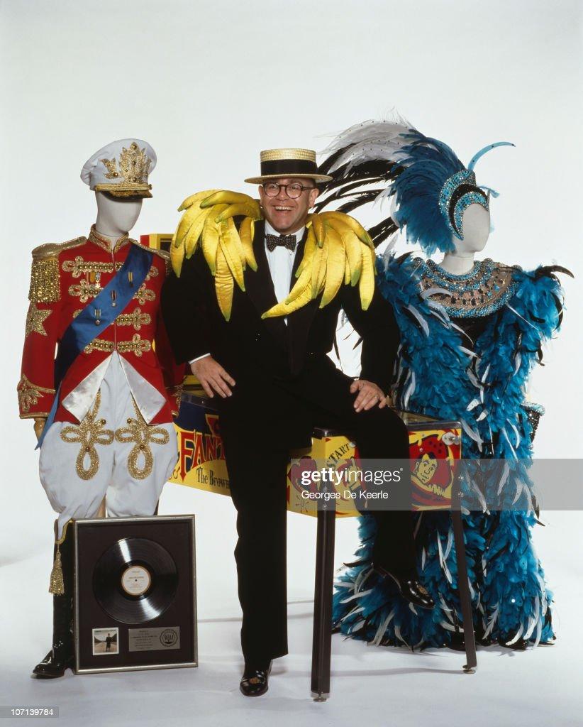 Archive Entertainment On Wire Image: Elton John