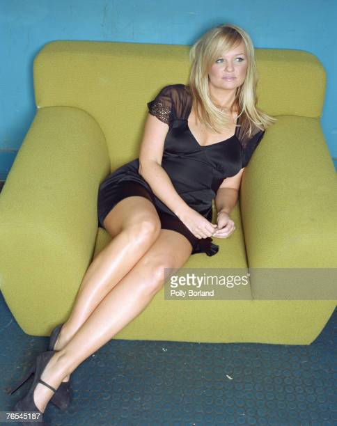 English pop singer Emma Bunton formerly known as Baby Spice of the Spice Girls pop group circa 2005