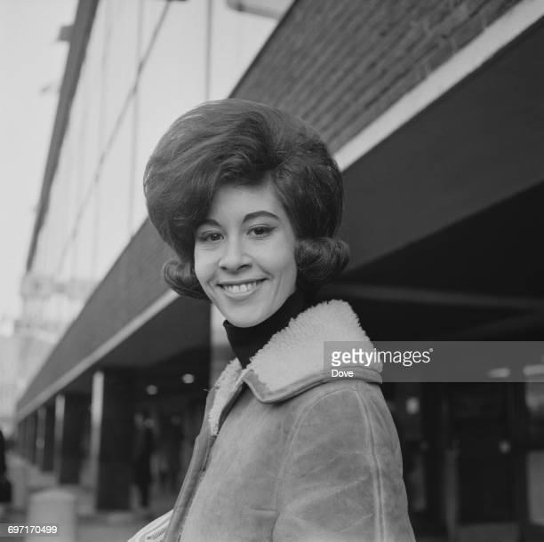 English pop singer Helen Shapiro at London Airport UK 19th January 1964