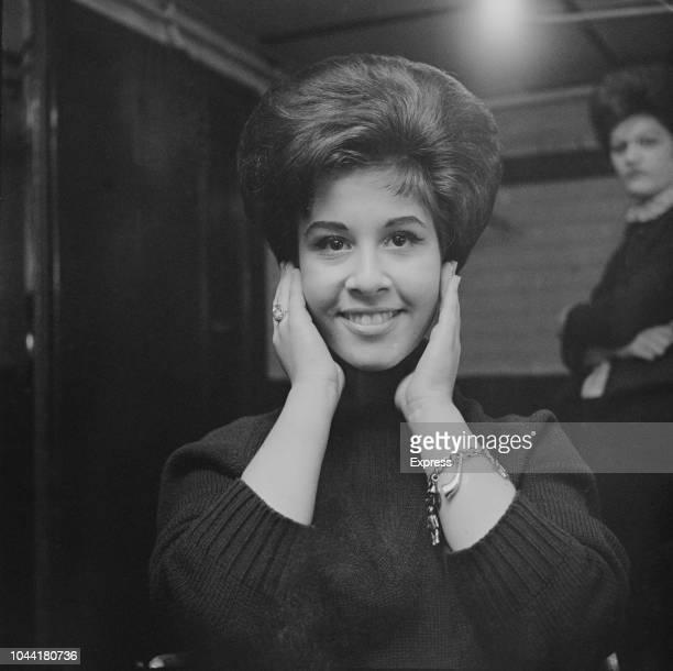 English pop singer Helen Shapiro in London on 11th February 1963