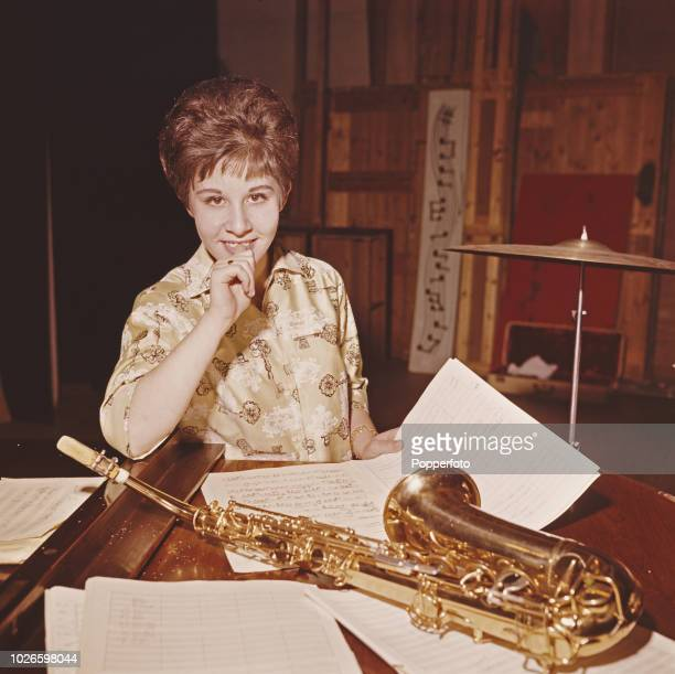 English pop singer Helen Shapiro pictured in a rehearsal studio in London in 1961 Helen Shapiro now 15 has already had two number one hits although...