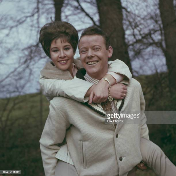 English pop singers Craig Douglas and Helen Shapiro circa 1962 The two are starring in the film 'RingaDing Rhythm' originally titled 'It's Trad Dad'