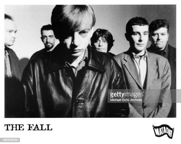 English postpunk band The Fall poses