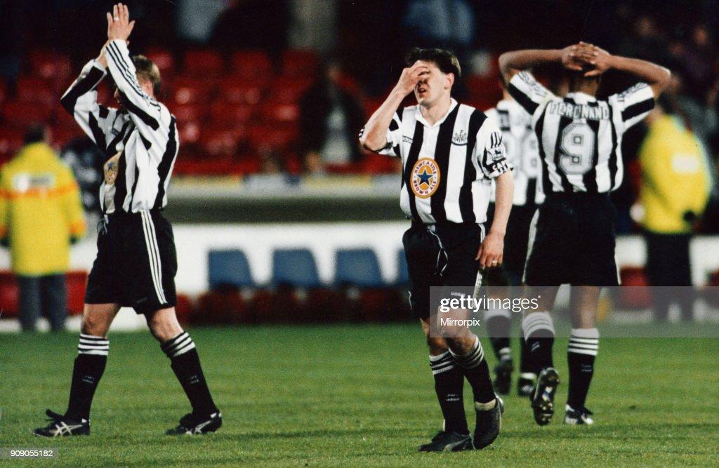 Nottingham Forest 1-1 Newcastle United : News Photo