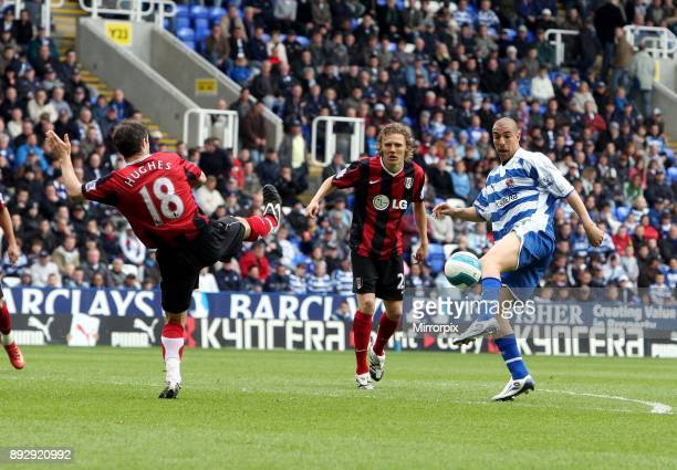 English Premier League match at the Madejski Stadium Reading 0 v Fulham 2 Fulham's vital win started their survival run of four wins in five games...