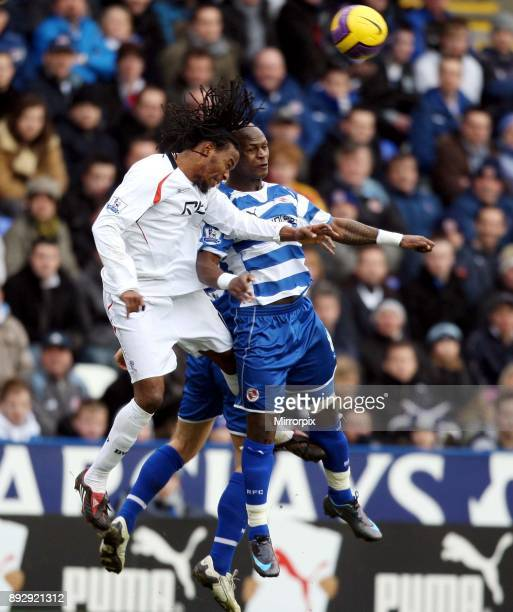 English Premier League match at the Madejski Stadium. Reading 0 v Bolton Wanderers 2. Reading slipped to a sixth successive defeat as Bolton picked...