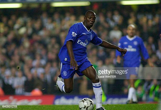 English Premiership Soccer Chelsea vs Newcastle United Claude Makelele Championnat d'Angleterre Saison 20032004 Chelsea contre Newcastle United