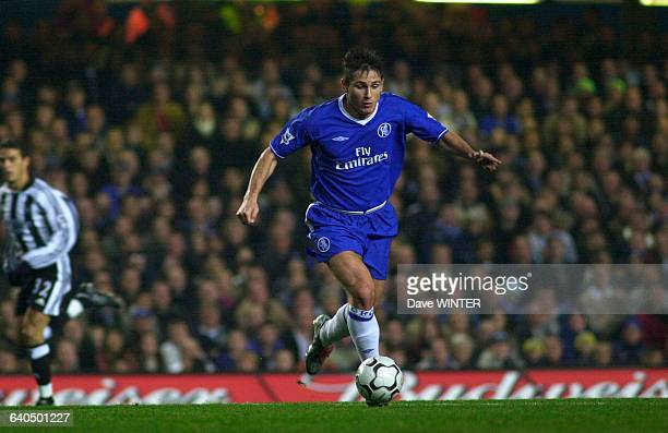English Premiership Soccer Chelsea vs Newcastle United Frank Lampard Championnat d'Angleterre Saison 20032004 Chelsea contre Newcastle United