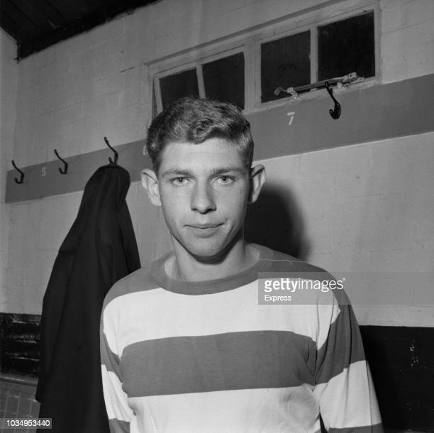 English professional footballer and defender with Queens Park Rangers Frank Sibley pictured after recently signing for the West London club on 5th...