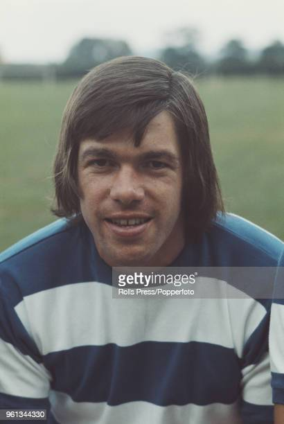 English professional footballer and defender with Queens Park Rangers FC Tony Hazell posed on the pitch at the club's training ground in London...