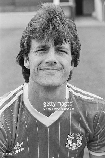 English professional footballer and forward for Leyton Orient FC Keith Houchen pictured on 13th August 1982