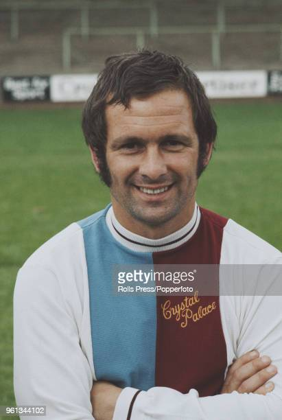 English professional footballer and midfielder with Crystal Palace FC Bobby Kellard posed on the pitch at Selhurst Park stadium in south London...