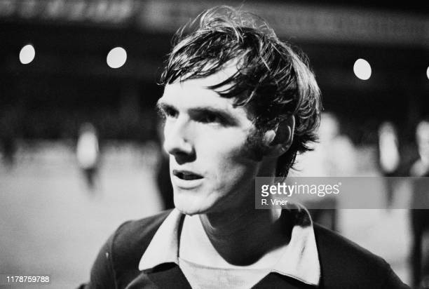 English professional footballer Mick Wright of Aston Villa FC leaving the field after a match against West Bromwich Albion FC at Villa Park Stadium...