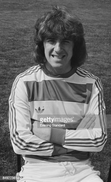 English professional footballer Stan Bowles of Queens Park Rangers FC August 1977