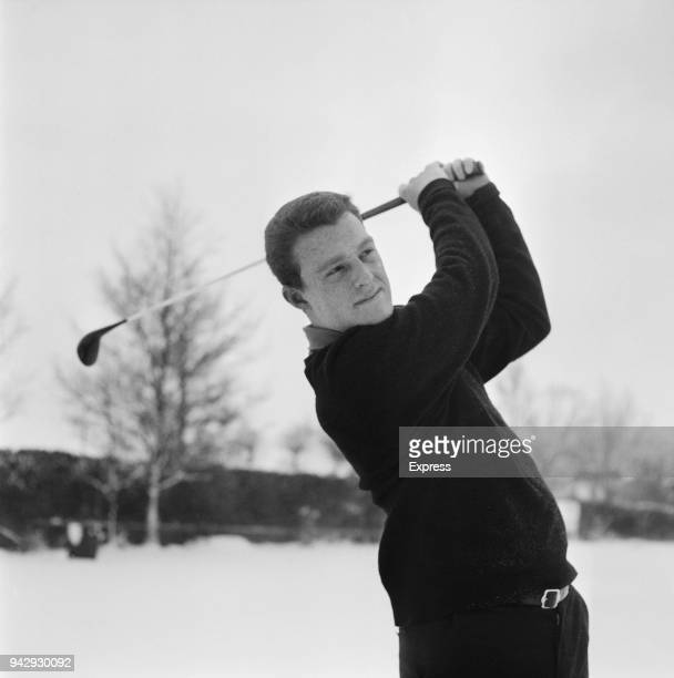 English professional golfer Nick Job in action UK 11th January 1968