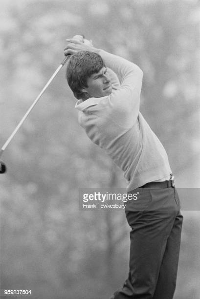 English professional Nick Faldo in action at the Martini International UK 19th May 1978