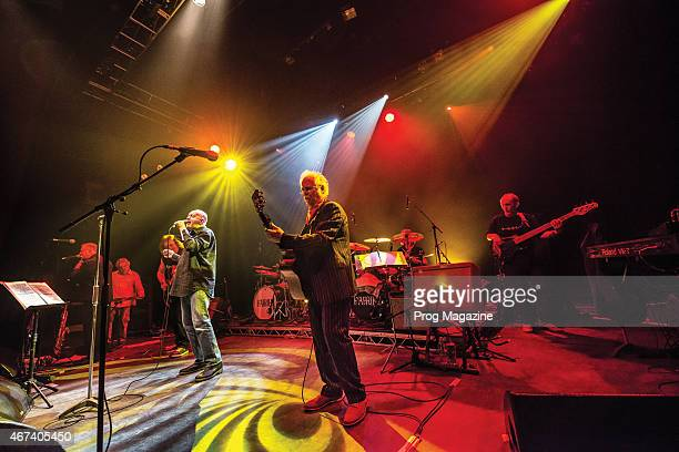 English progressive rock group Family performing live on stage at Shepherd's Bush Empire in London on February 1 2014