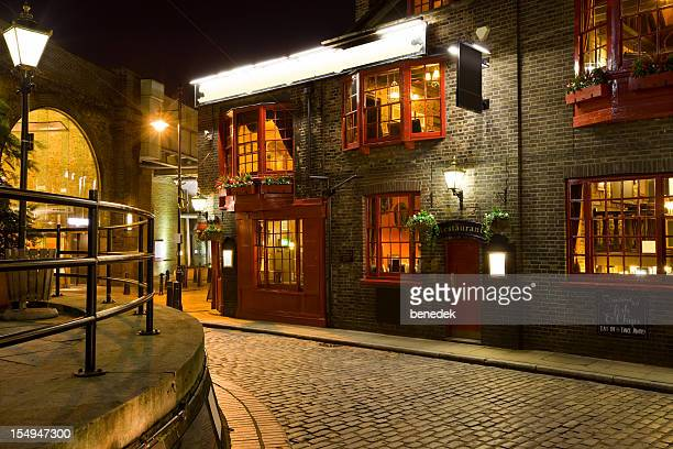 イングリッシュパブ、レストラン、ロンドン、イングランド、英国