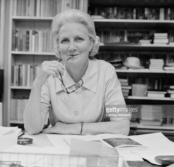 English publisher Norah Smallwood , UK, July 1971.
