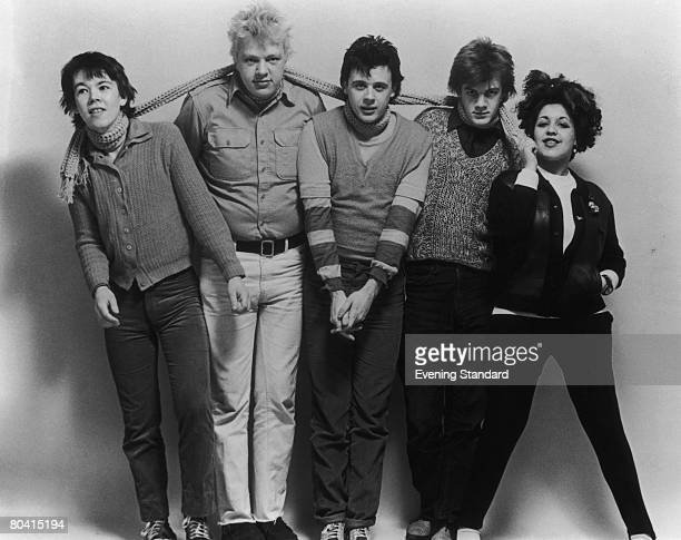 English punk band the XRay Spex 16th May 1978