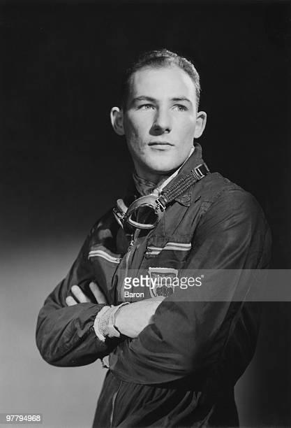 English racing driver Stirling Moss 1953