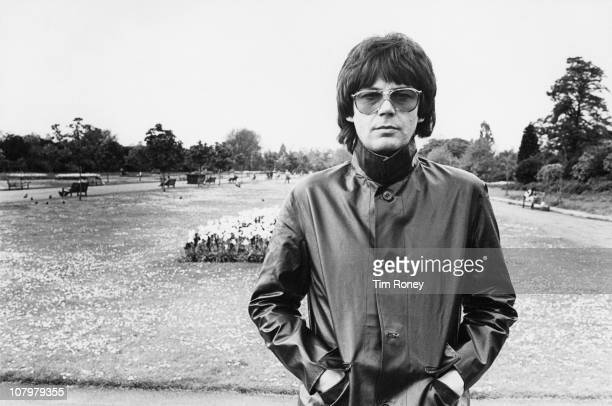 English radio disc jockey and songwriter Mike Read circa 1980