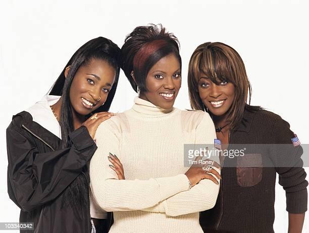English R&B girl group Eternal, 1997.