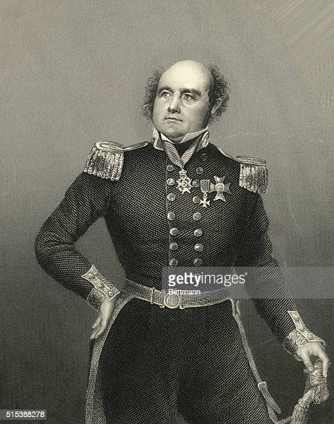 English rear admiral and explorer Sir John Franklin whose illfated expedition is credited with having proved the existence of the Northwest Passage a...
