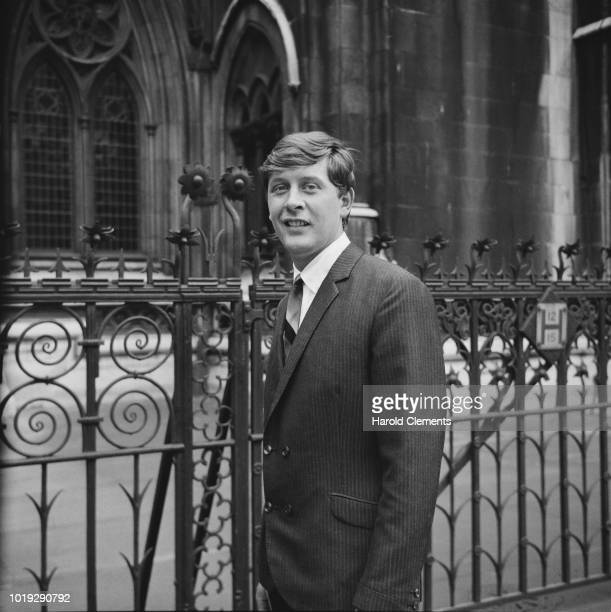 English record producer Mickie Most outside the Royal Court of Justice London UK 19th May 1965