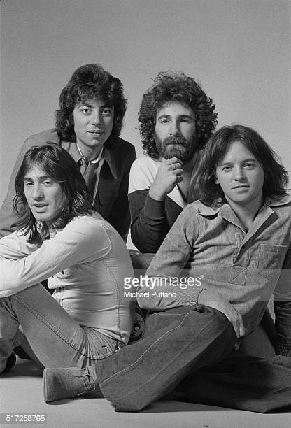 English rock band 10cc 1974 Clockwise from front left Lol Creme Graham Gouldman Kevin Godley and Eric Stewart