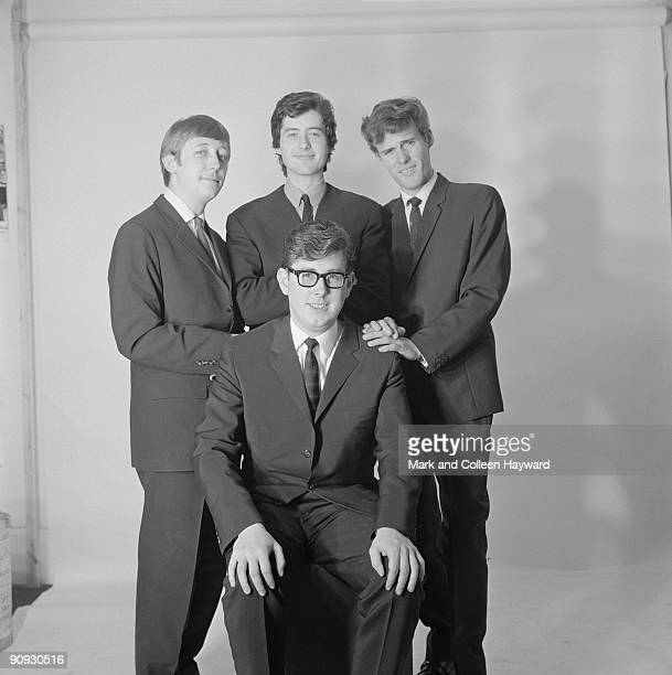 English rock band CarterLewis And The Southerners circa 1964 Guitarist Jimmy Page of Led Zeppelin is standing centre back