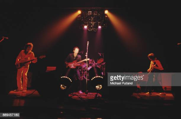 English rock band Dire Straits performing at the Bottom Line in New York City on March 3 1979