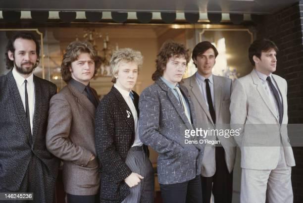 English rock band Roxy Music circa 1983