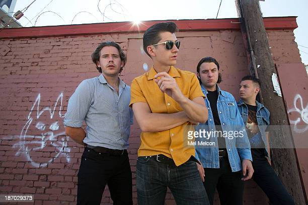 English rock bank Arctic Monkeys is photographed for Los Angeles Times on August 12 2013 in Hollywood California PUBLISHED IMAGE CREDIT MUST READ Mel...