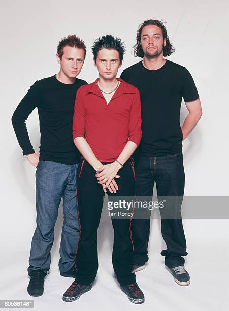 English rock group Muse circa 1995 From left to right they are Dominic Howard Matthew Bellamy and Christopher Wolstenholme