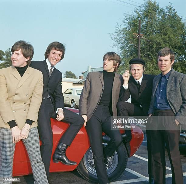 English rock group The Hollies during a visit to Hollywood California October 1966 From left to right they are Graham Nash Allan Clarke Tony Hicks...