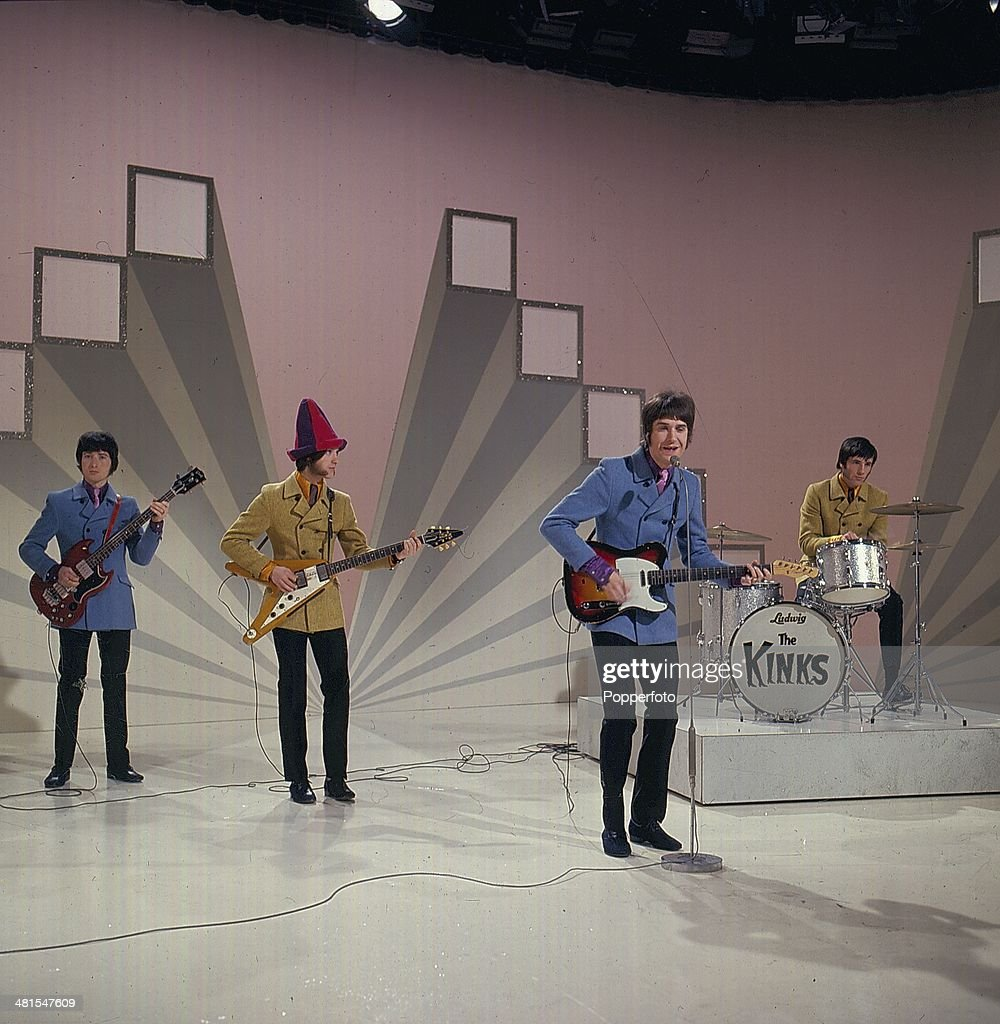The Kinks On Morecambe And Wise Show : News Photo