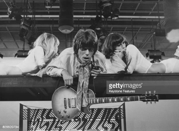English rock guitarist Jeff Beck, october 1967.