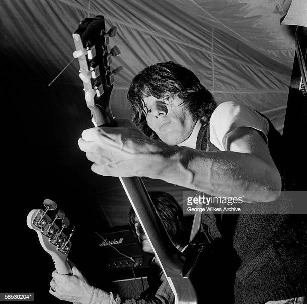 Feb 1969: English rock guitarist Jeff Beck.