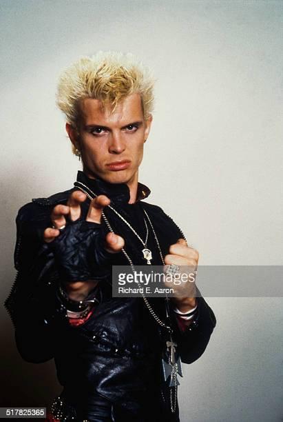 English rock singer Billy Idol, USA, 1984.