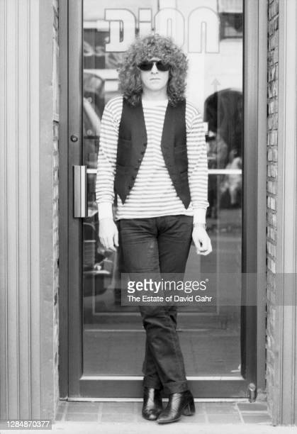 English rock singer songwriter, musician, and band leader Ian Hunter poses for a portrait on April 24, 1979 in New York City, New York. Ian Hunter's...