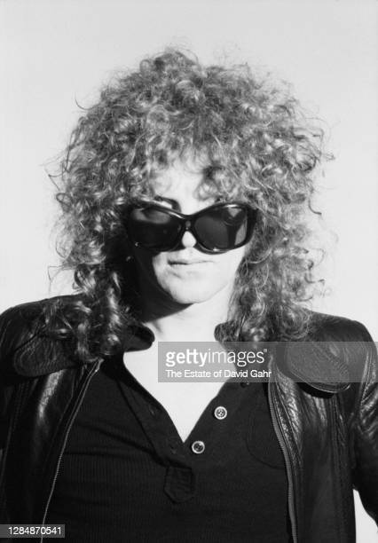 English rock singer songwriter, musician, and band leader Ian Hunter poses for a portrait on January 17, 1976 in New York City, New York. Ian...