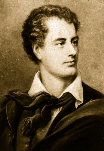 English romantic poet George Gordon Byron, 6th Baron...