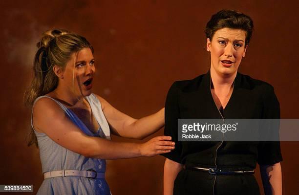 english royal opera production of the trojans - robbie jack stock-fotos und bilder