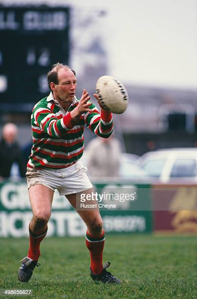 English rugby player Dusty Hare in action for Leicester Tigers against Waterloo RFC in a Courage League National Division One match at Welford Road...