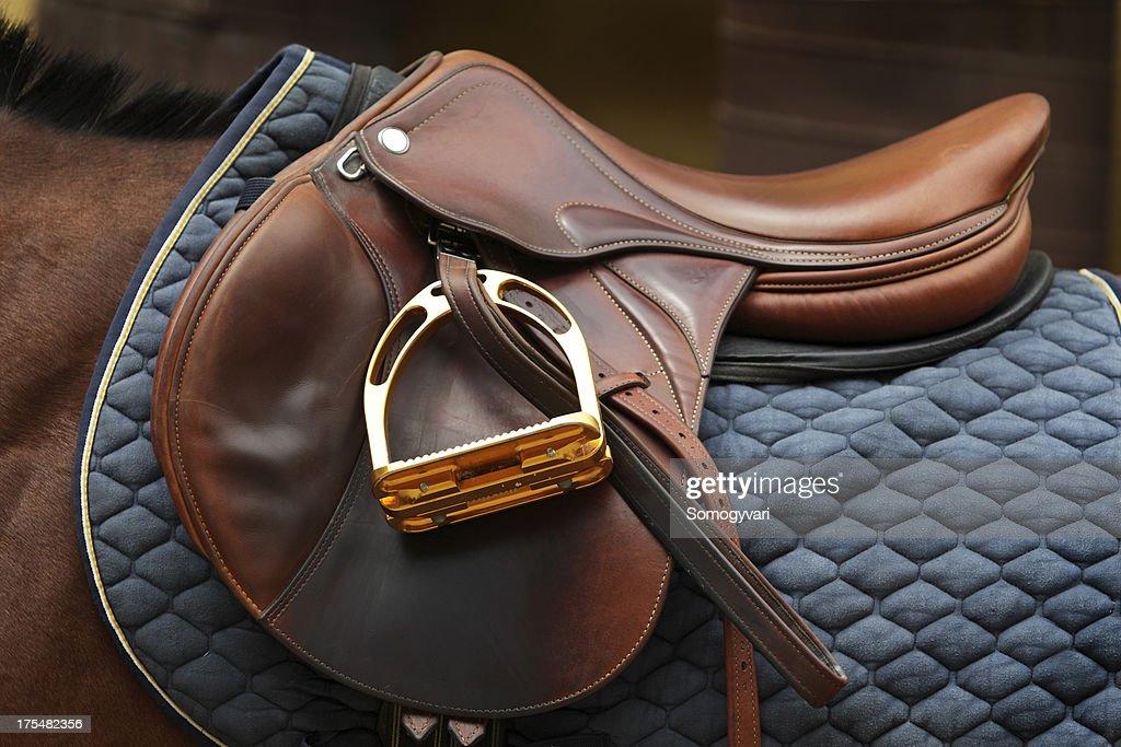English saddle : Stockfoto