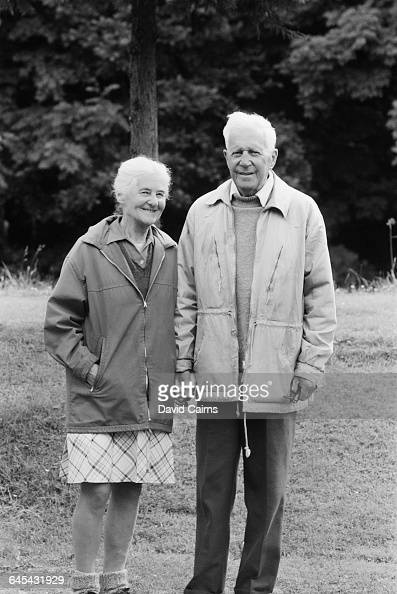 English Scientist And Inventor Sir Barnes Wallis And Wife