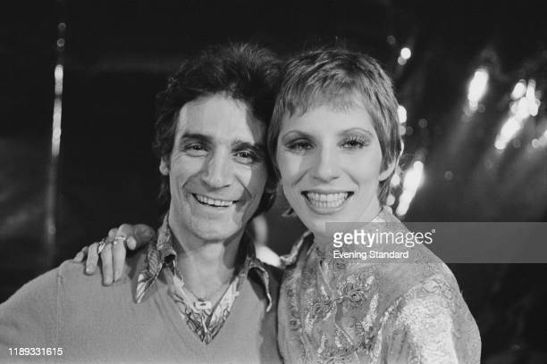 English session drummer Roy Martin and Cypriotborn American model actress and journalist Angie Bowie UK 17th November 1976